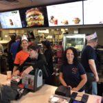 teachers work the counter at McDonalds