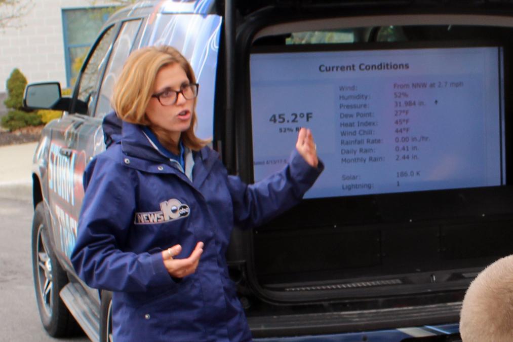 Meteorologist Christina Ernie