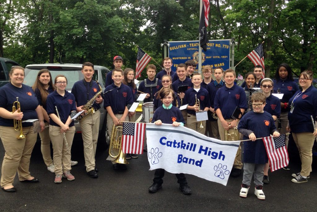 The Secondary Marching Band