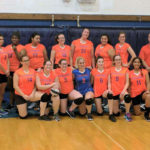 Girls Volleyball team photo
