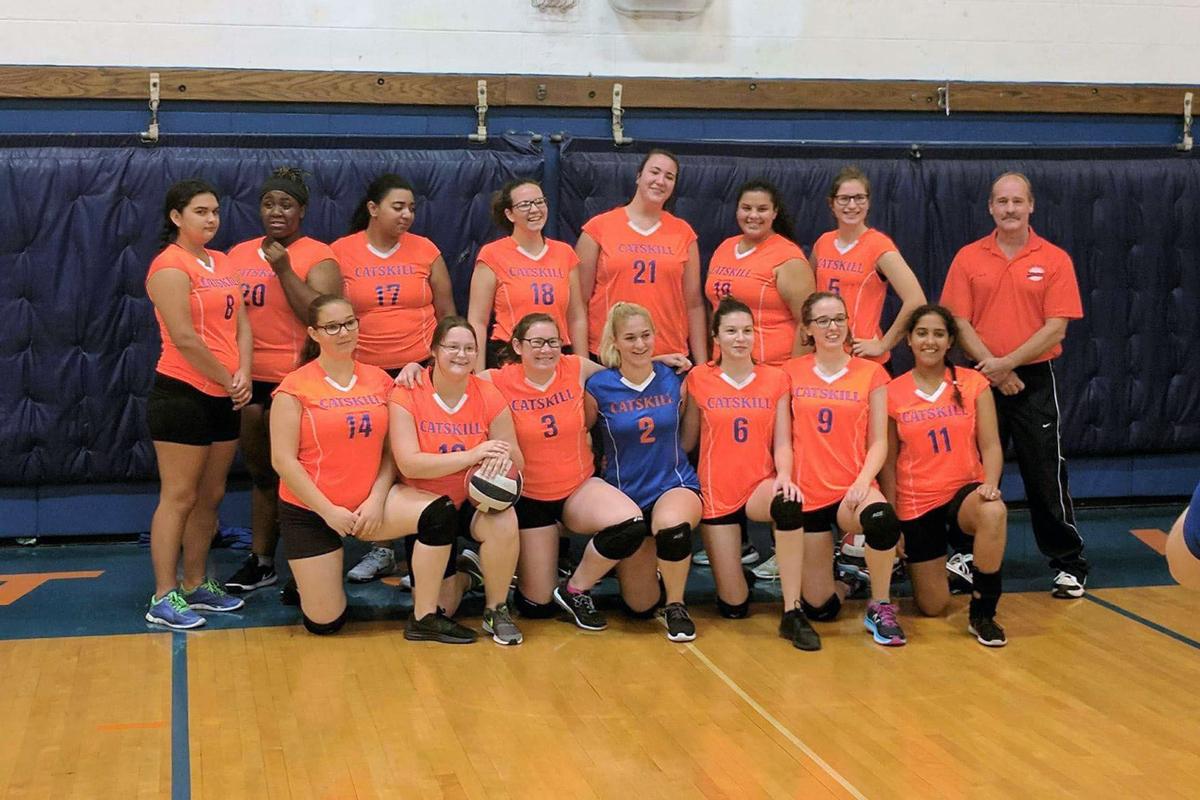 Girls Volleyball team photo