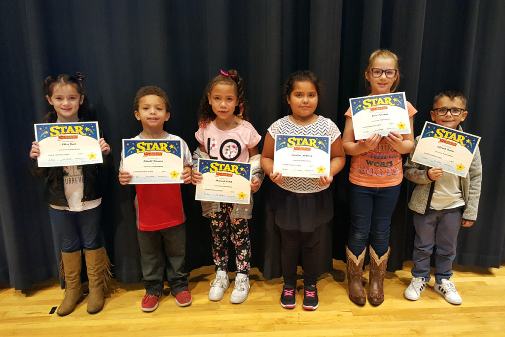 Grade two star students