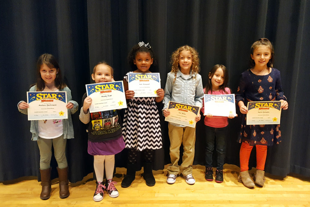 Grade 1 Star Students