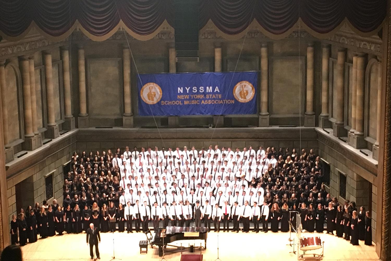 Mixed Choir performs at Eastman Kodak Hall