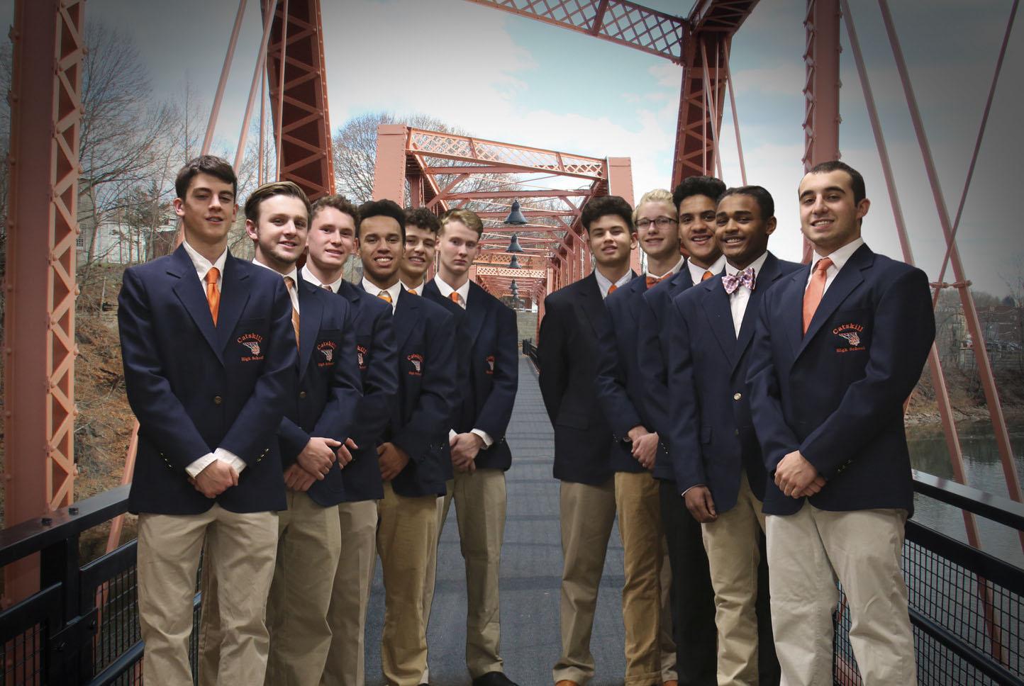 Catskill High School boys varsity basketball team