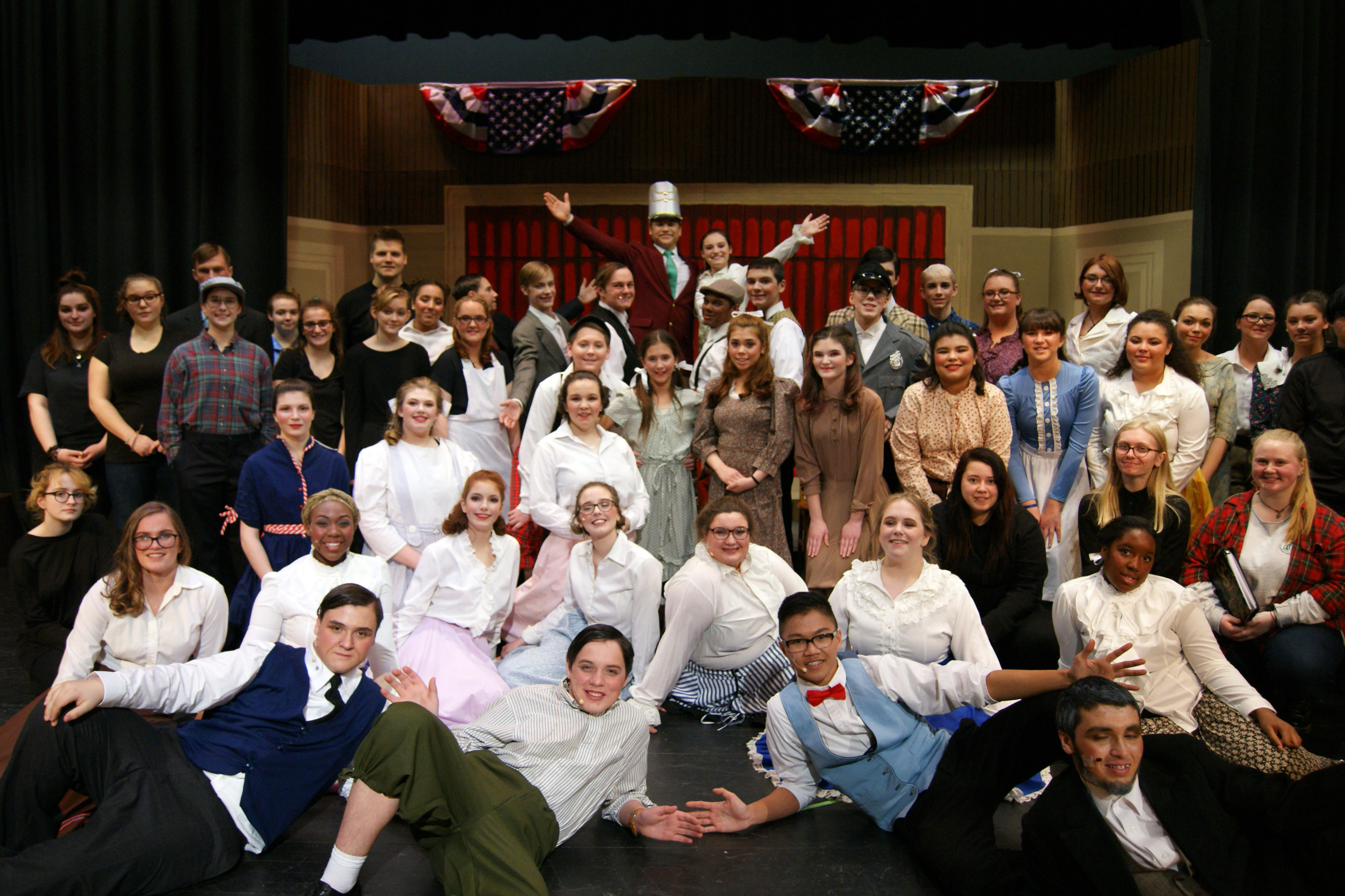 Cast & Crew of The Music Man
