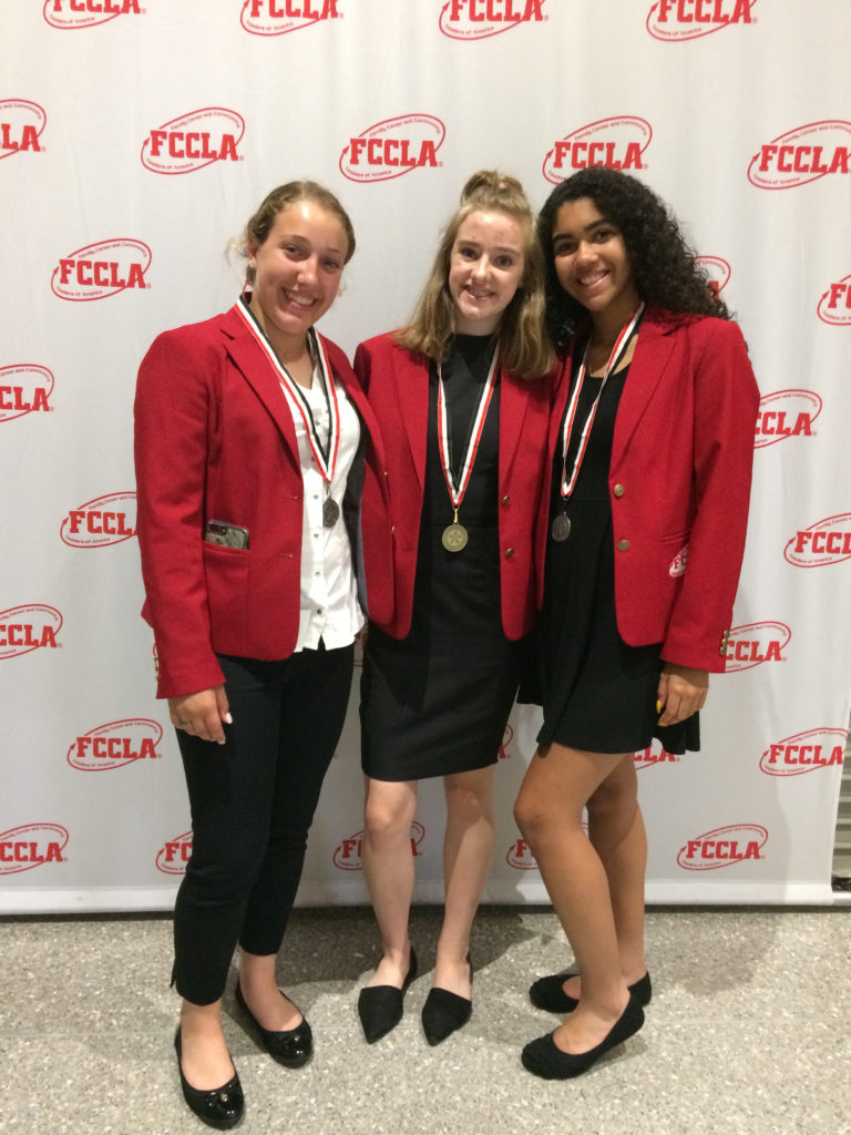 FCCLA students at national conference