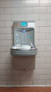 water bottle refilling stations