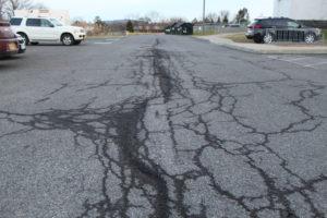 ES rear parking lot