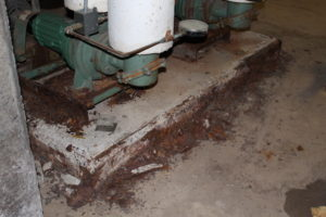 MS boiler room