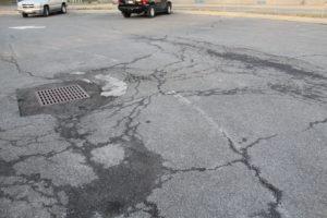 ES front parking lot