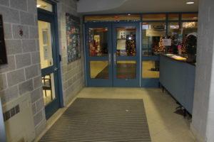elementary school vestibule