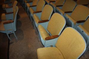 HS auditorium seating