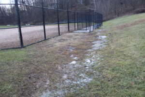 drainage issues at MS/HS field