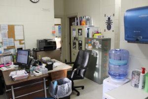 Nurse's office at MS/HS