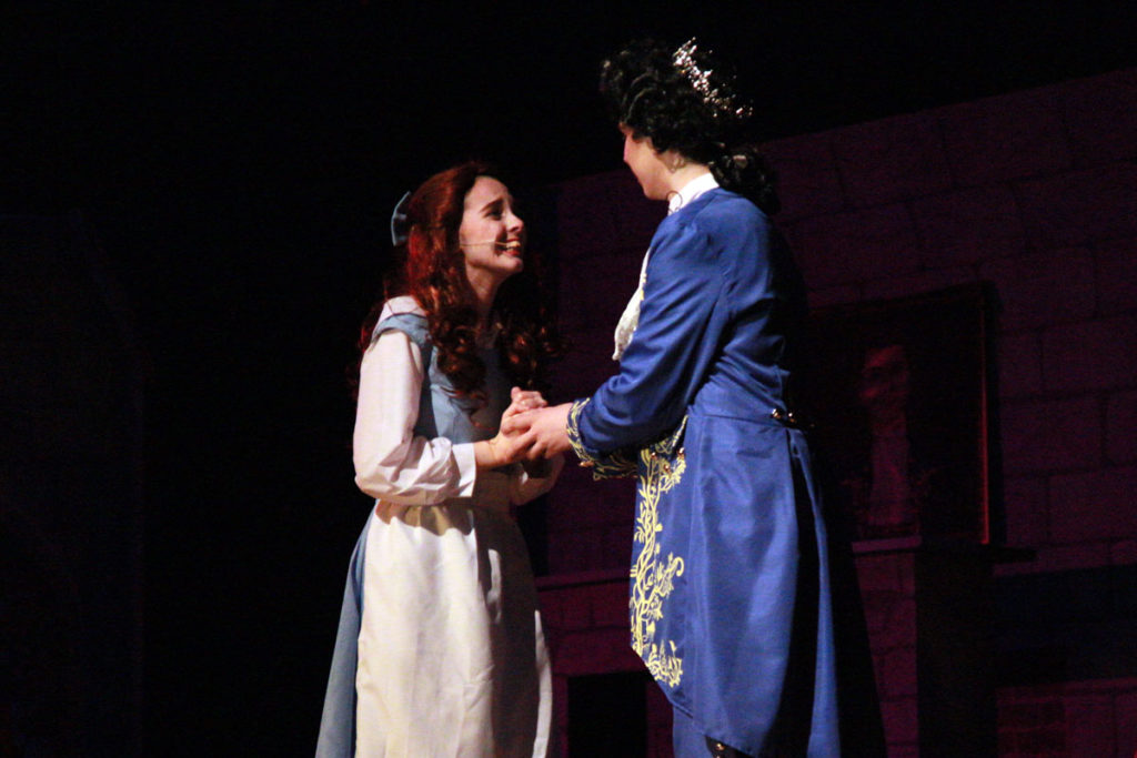Belle and the prince after the spell is broken