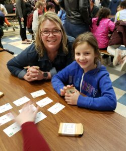 parent and student palying math games