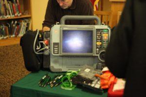 emergency medical monitor