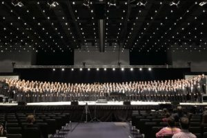 Mixed Choir performs at the All-East Honors Ensemble concert