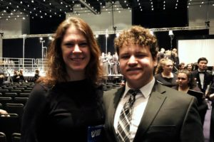 CHS Choral Teacher Michelle Stores and Ed Donahue