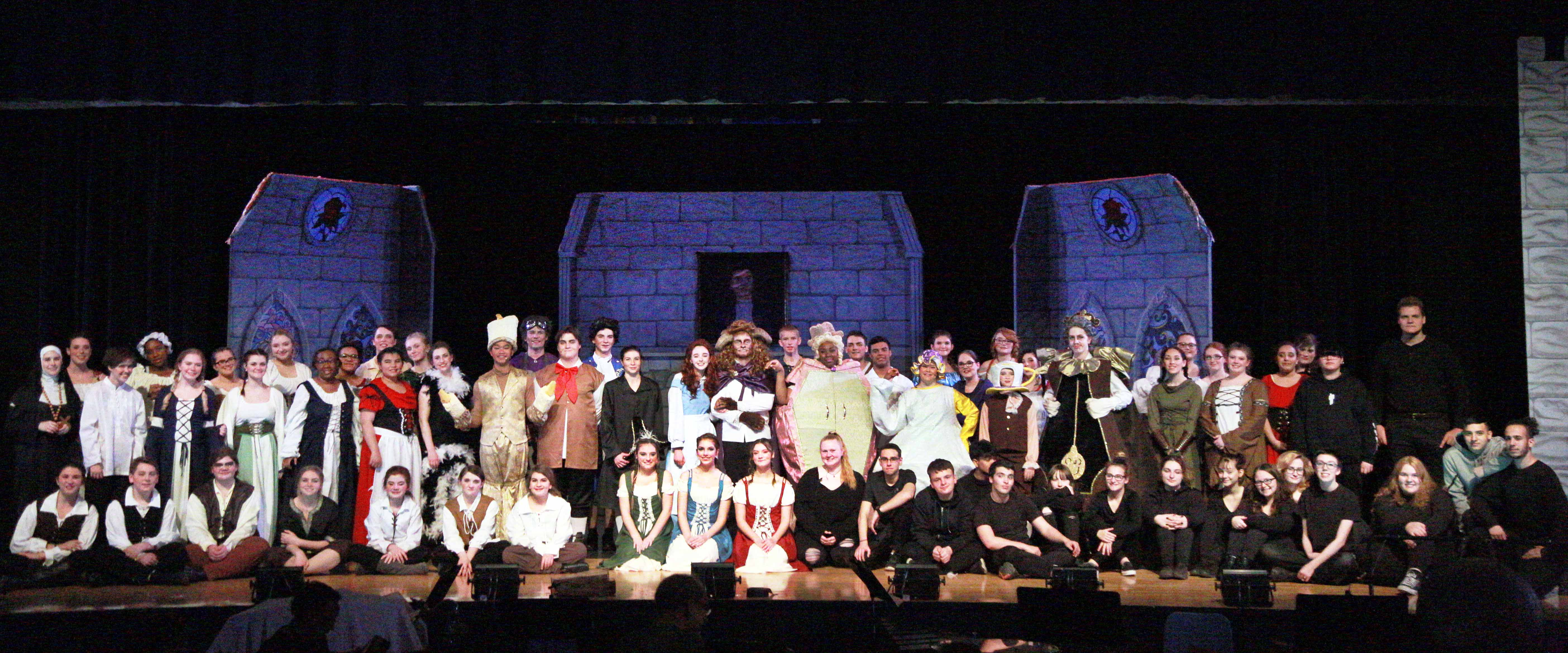 Cast and crew of Bueaty and the Beast
