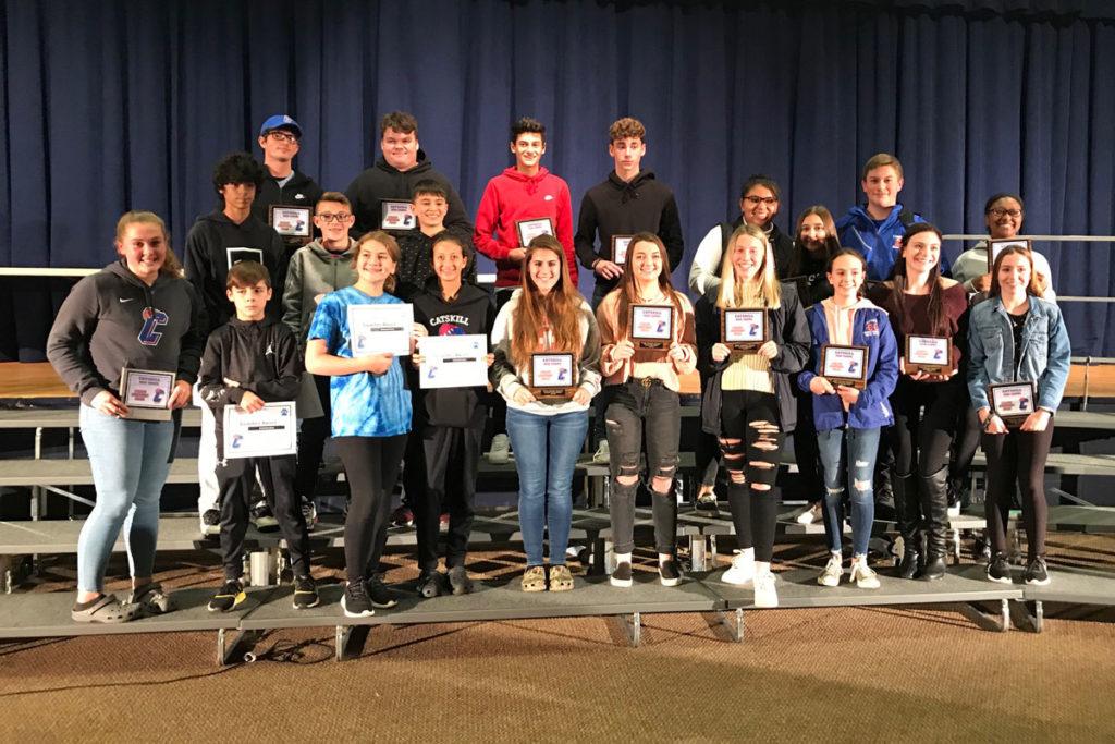 Catskill's 2019 fall sports awardees