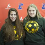 Laura Christman and Kelsey Lackie