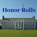 "Catskill Middle School building and the words ""Honor Rolls"""
