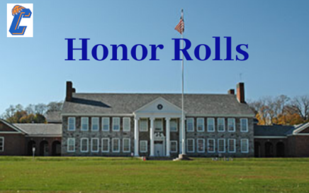 """Catskill Middle School building and the words """"Honor Rolls"""""""