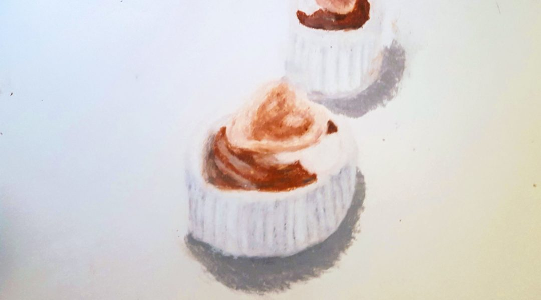 drawing of cakes