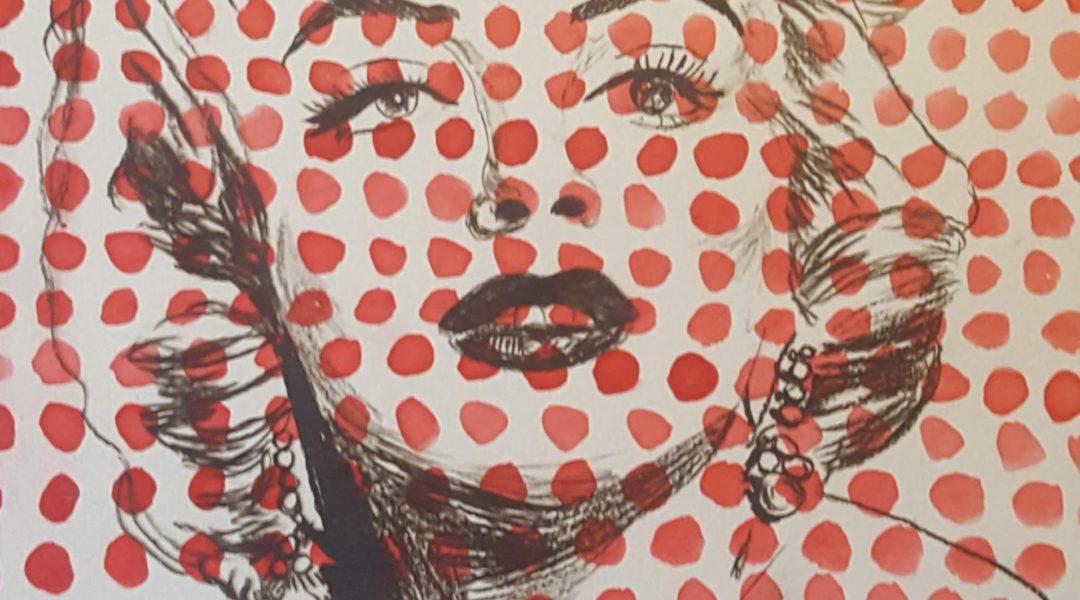 print of Marilyn Monroe
