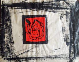 print of rose