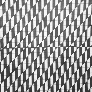 black and white design in houndstooth style