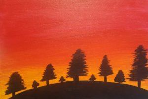 sunst landscape
