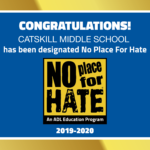 No Place For Hate Banner