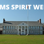 Middle School Building and the words CMS Spirit Week