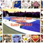 Catskill High School Class of 2020 Caps collage