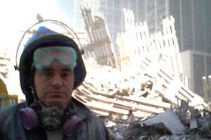man standing at Ground Zero