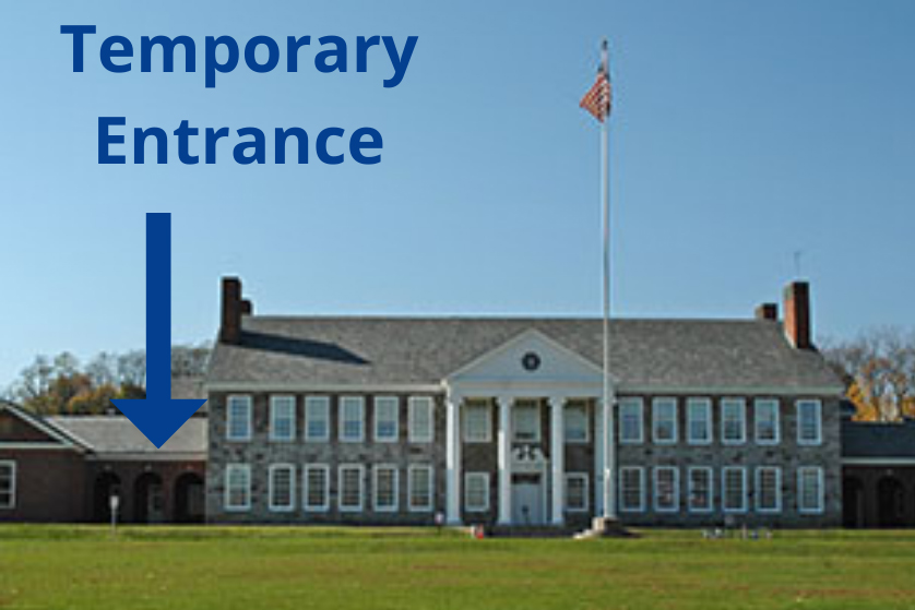 Catskill Middle School side entrance
