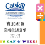 Title card for Welcome to Kindergarten presentation