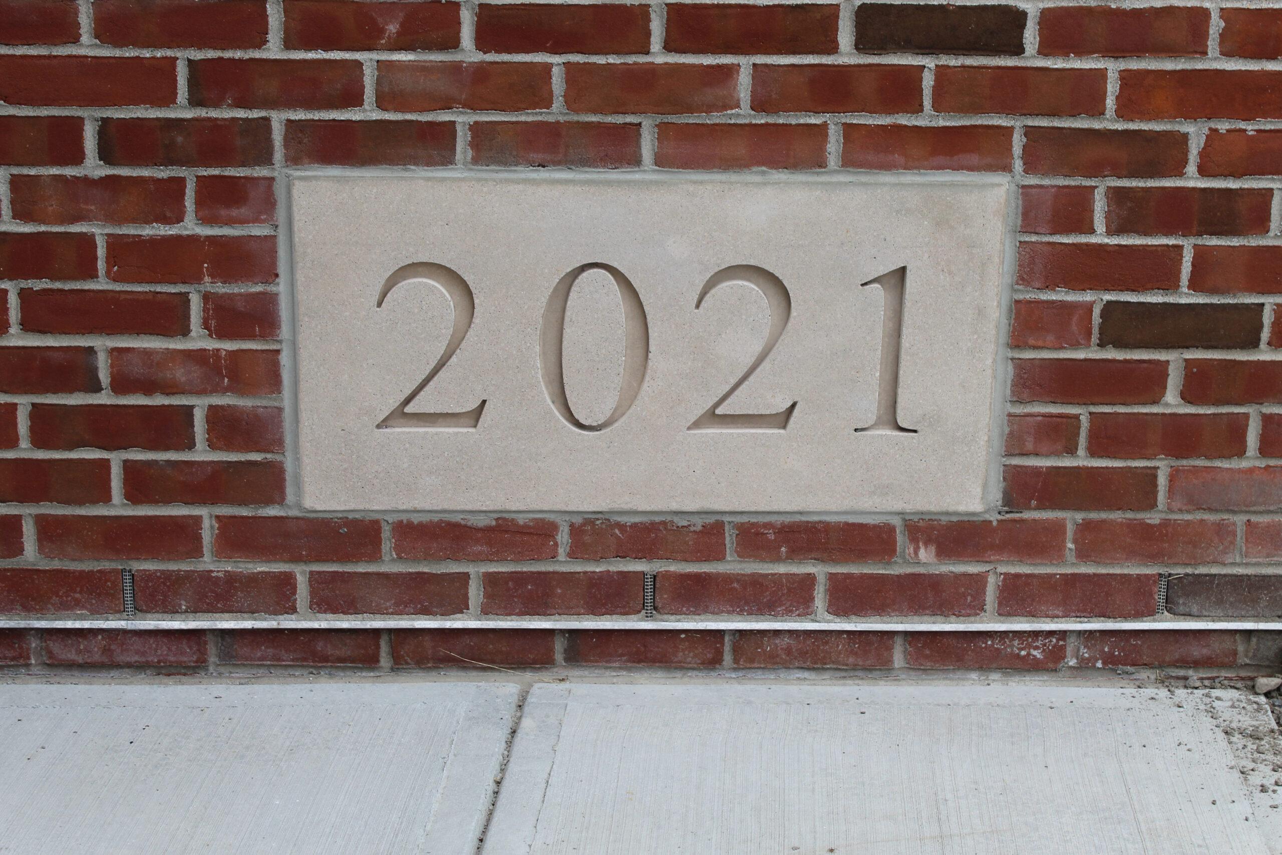 2021 datestone